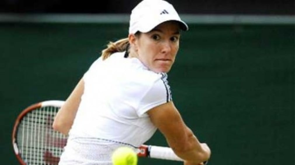The rumours were true... Justine Henin has played her last ever professional tennis match.