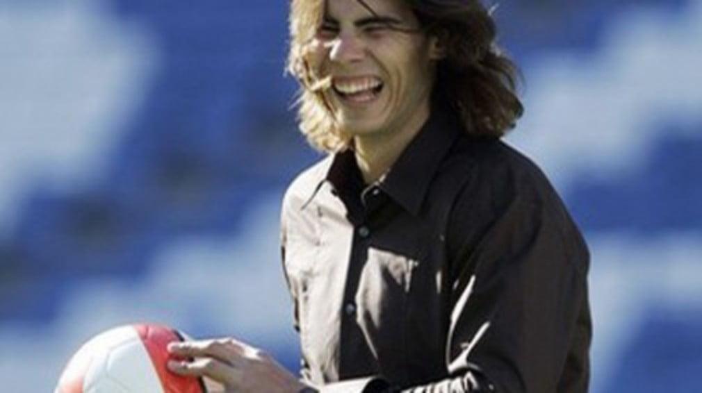 When Real Madrid fan Rafa learnt that club president Ramon Calderon was in the Wimbledon crowd