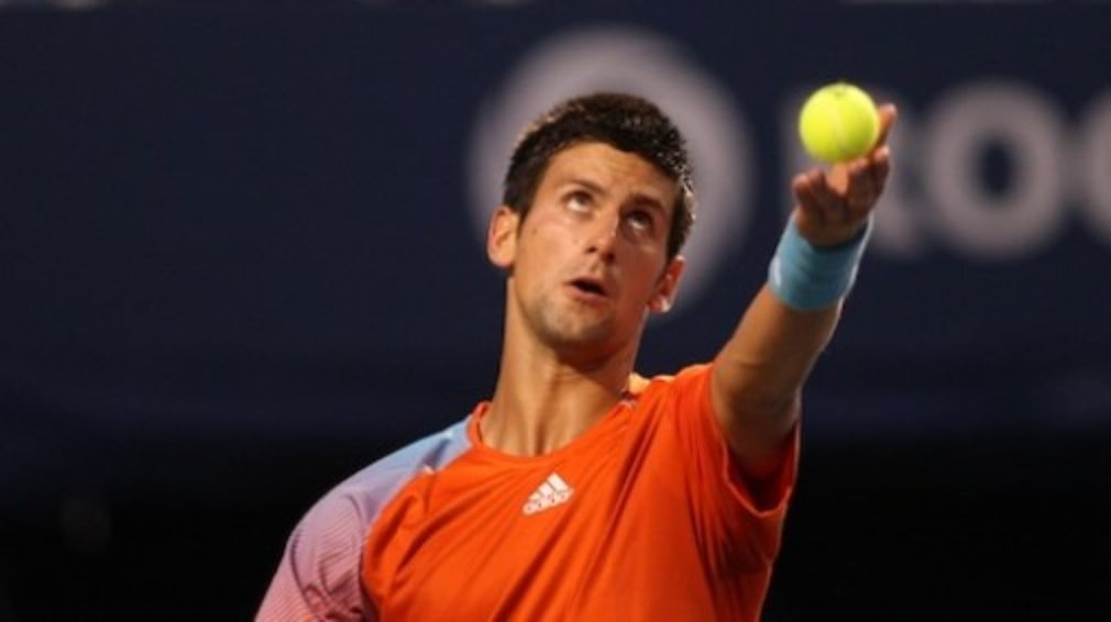 Novak Djokovic and Andy Roddick both came through second round matches at the Rogers Cup on Tuesday.