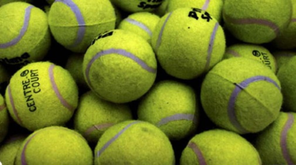 ...all by depositing clapped-out tennis balls at your local bank. As long as your local bank is in Canada