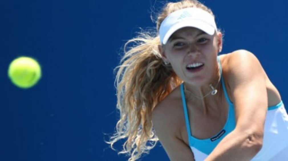 It was only a matter of time before Caroline Wozniacki bagged the first singles title of her career.