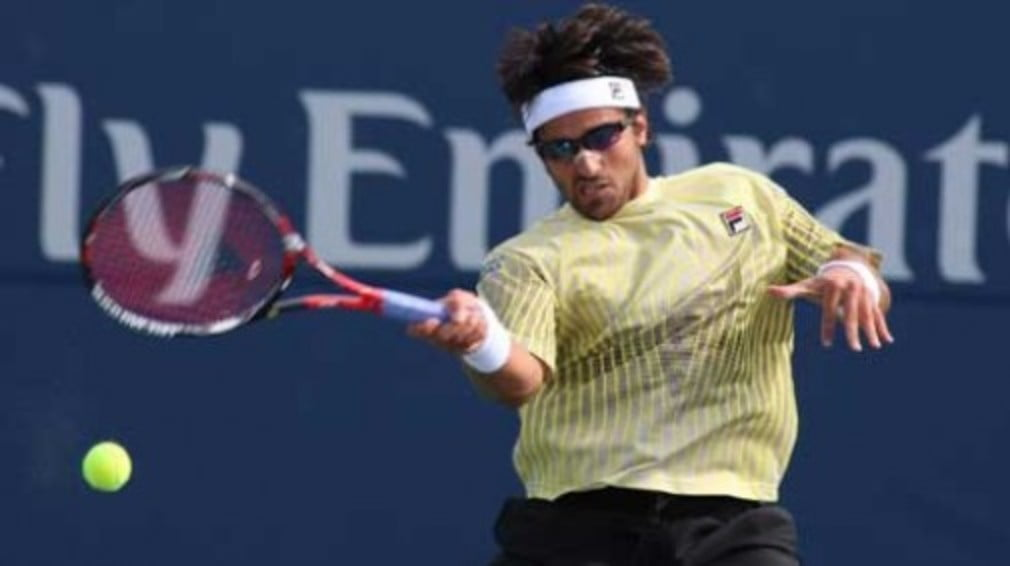 World No.4 David Ferrer lost in the first round of the Olympic tennis event