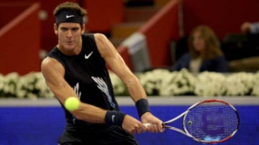 Juan Martin Del Potro beat David Nalbandian to win an all-Argentine battle at the Madrid Masters on Thursday.