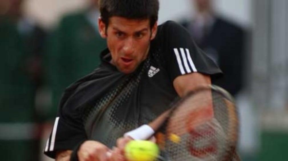 The Australian Open champ was in fine form against Juan Martin Del Potro