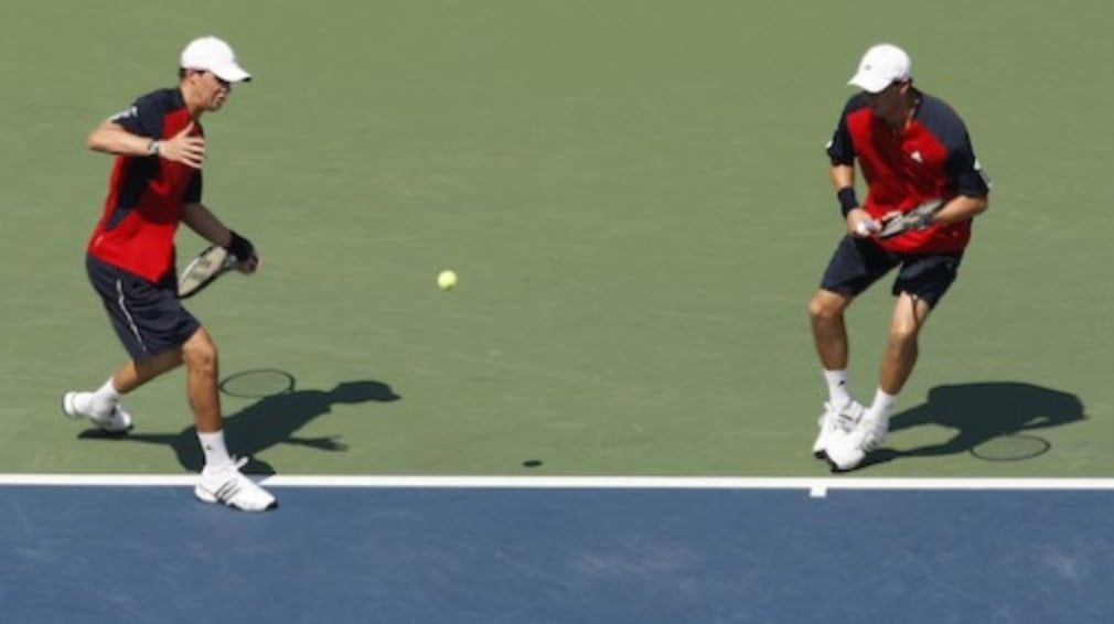 Everything is on the line in tomorrow's Masters Cup doubles final - the title