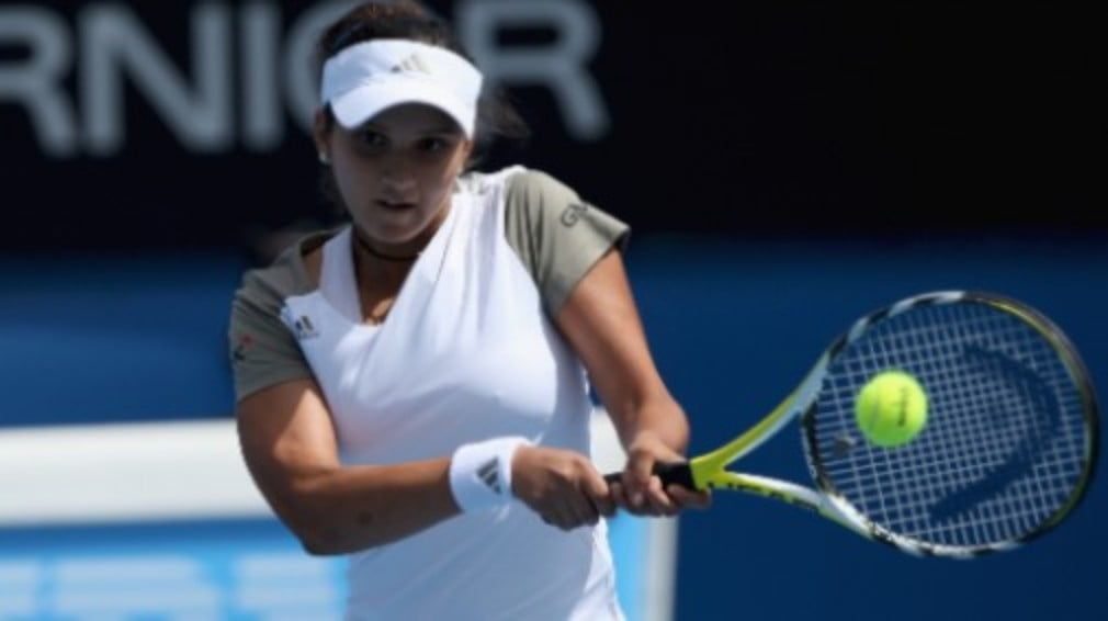 Australian Open 2009: Sania Mirza becomes the first Indian woman to win a Grand Slam title...