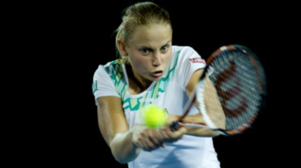 The Jelena Dokic comeback story continued in Perth on Wednesday when she led the Aussie Fed Cup team to a 3-0 victory over Korea.