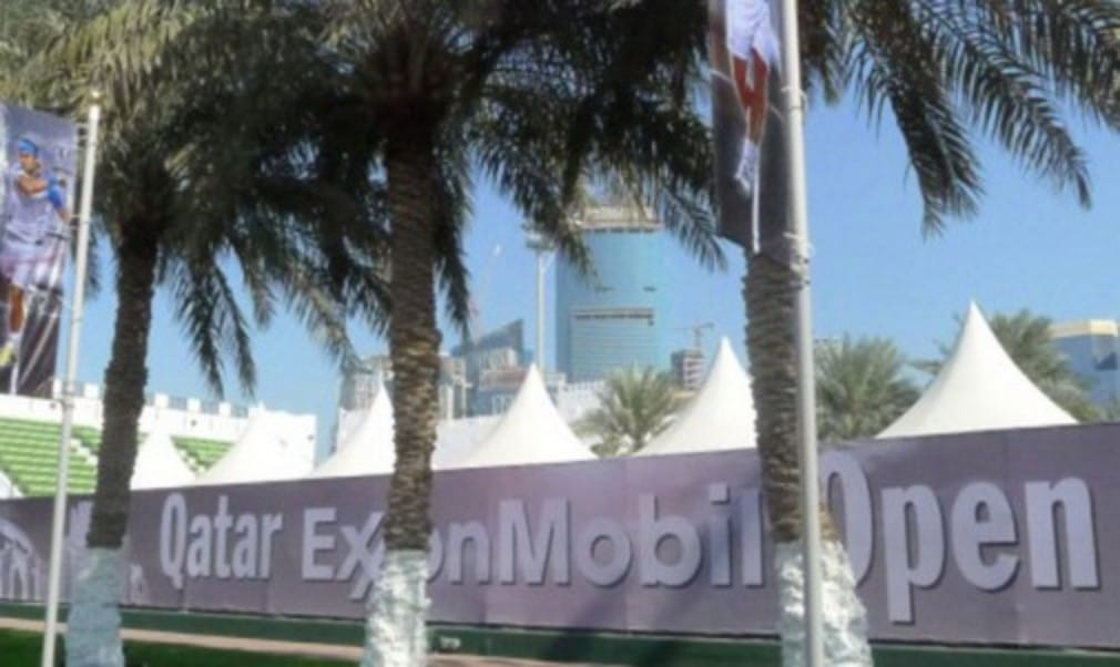 The 22nd staging of the Qatar ExxonMobil Open is underway. The tournament