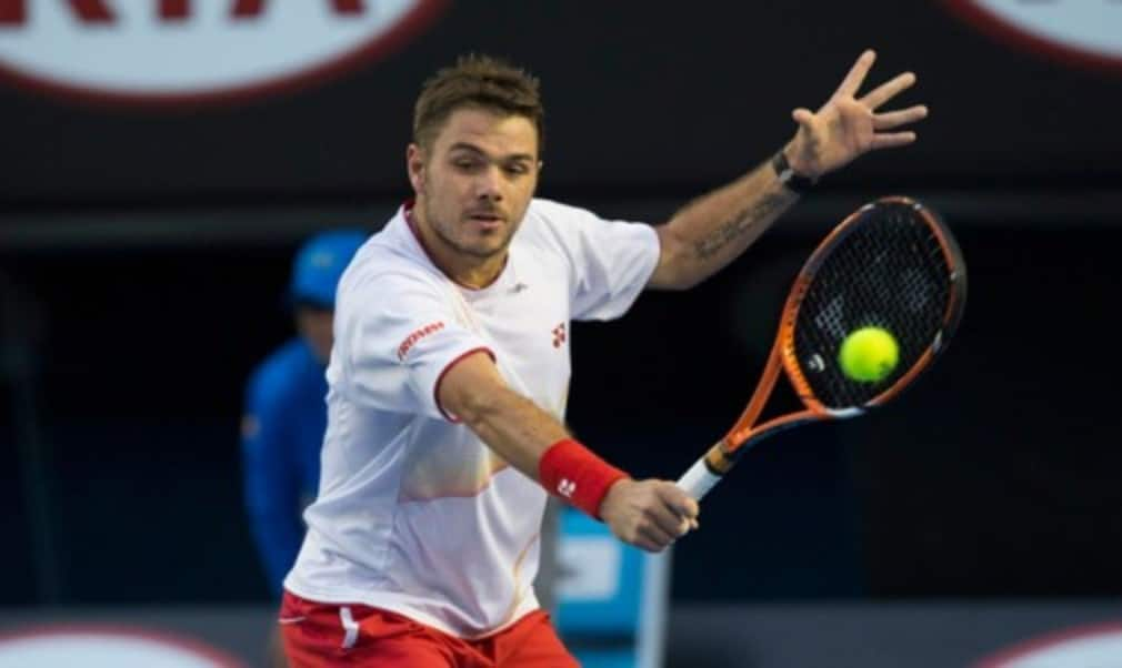 Novak DjokovicŠ—Ès bid for a fifth Australian Open title came to an end as Stanislas Wawrinka snapped a 14-match losing streak against the Serb to reach the semi-finals