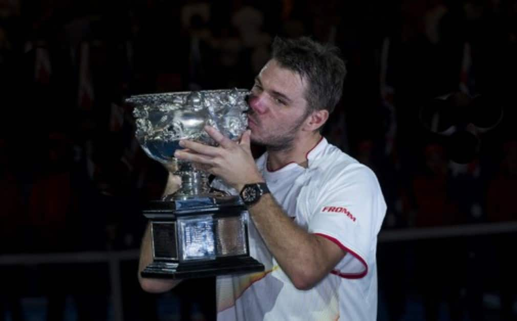 On Australia Day Stan Wawrinka was crowned 2014 Australian Open Champion when he defeated Rafael Nadal 6-3 6-2 3-6 6-3