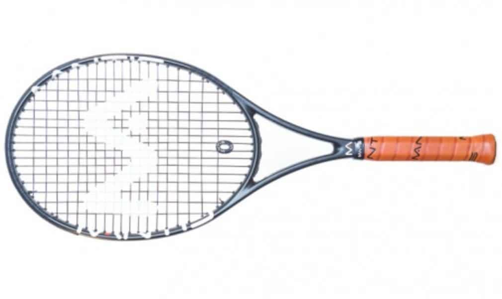 Greg Rusedski's weapon of choice