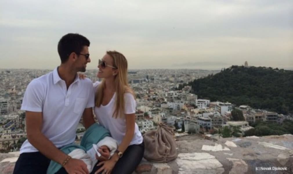 World No.2 Novak Djokovic has announced that fianc'©e Jelena Ristic is pregnant with their first child