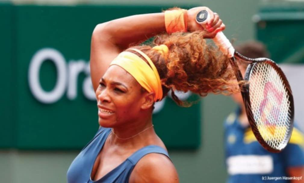 When sheŠ—Ès fit and focused nobody can live with Serena Williams