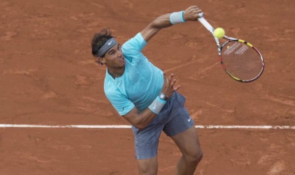 Rafael Nadal played down concerns that a back injury will hamper his chances of winning the French Open for a record ninth time after overcoming Leonardo Mayer in straight sets.
