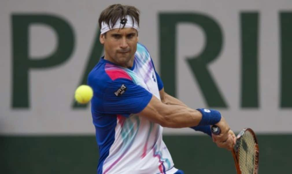 David Ferrer will face defending champion Rafael Nadal in a repeat of last yearŠ—Ès French Open final after beating Kevin Anderson 6-3 6-3 6-7(5) 6-1