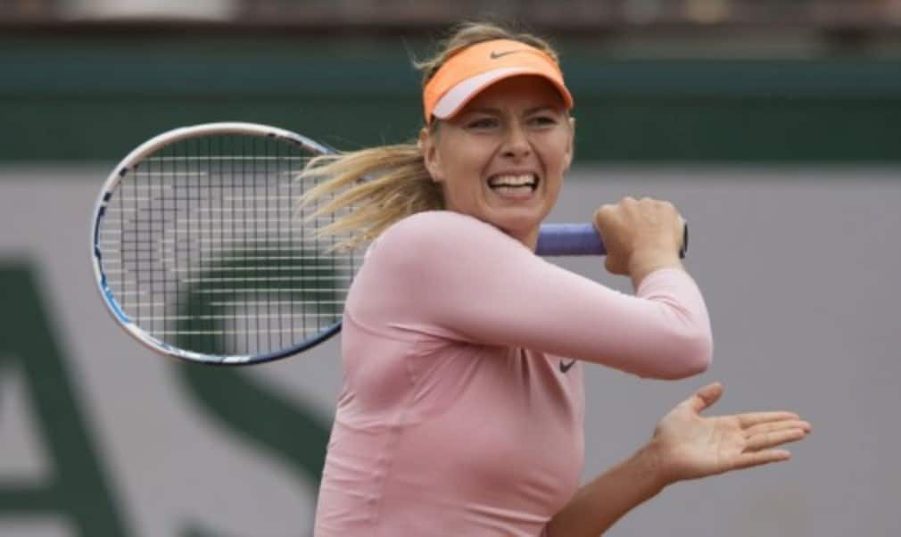 Maria Sharapova might seem like any other player when she steps off the court