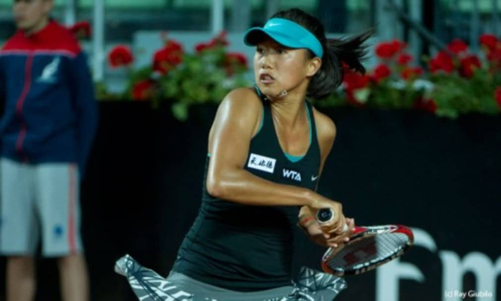 Zhang Shuai conquered her grass-court nerves to stun No.3 seed Sloane Stephens and advance to the semi-finals of the Aegon Classic