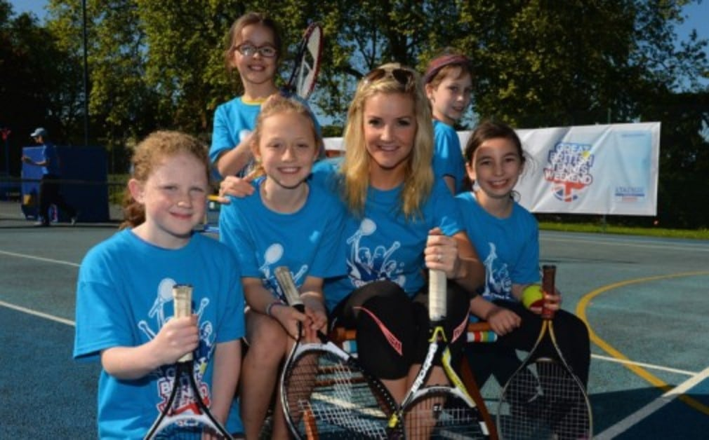 Former Blue Peter presenter Helen Skelton shares her favourite Wimbledon memories in the latest of our 'My Wimbledon' series