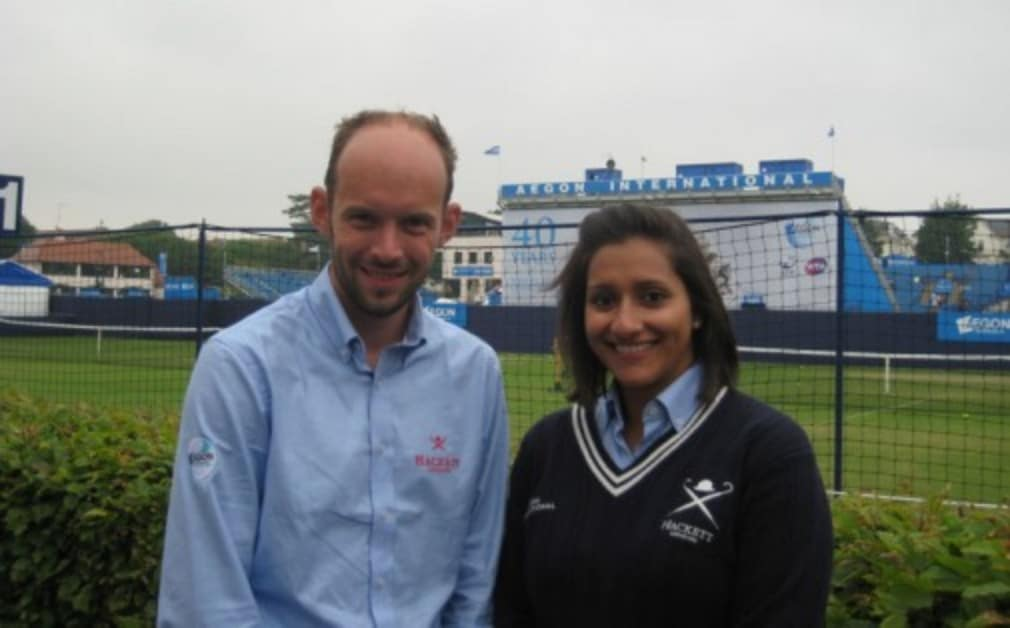 Line judges Lydia Fernandes and Steve Bishop share their behind-the-scenes memories of Wimbledon in the latest of our 'My Wimbledon' series