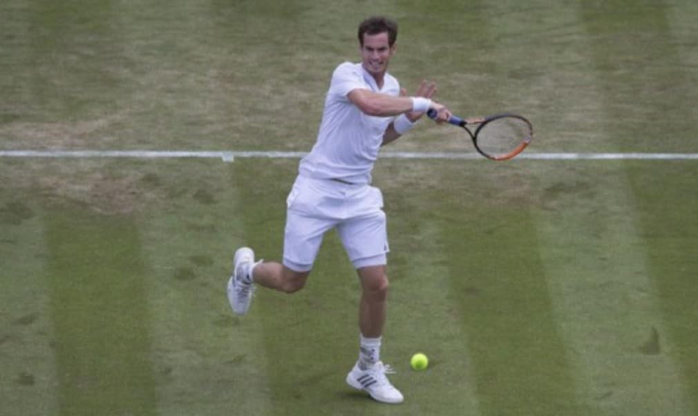 Defending Wimbledon champion Andy Murray was pleased with the way he swept aside Blaz Rola 6-1 6-1 6-0 to march into the third round at Wimbledon