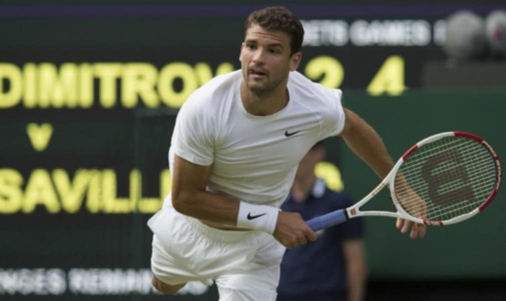 Alexandr Dolgopolov believes the pressure is on his third-round opponent Grigor Dimitrov to finally make his 'big breakthrough' at a Grand Slam
