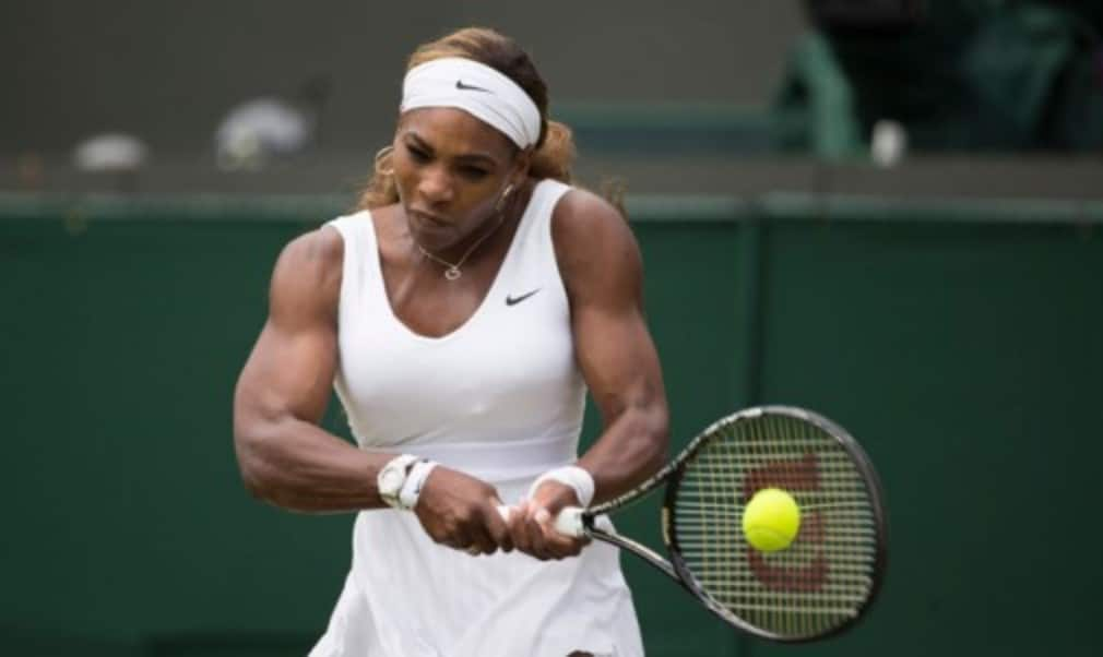 Serena Williams believes she has not yet reached her peak despite enjoying an emphatic victory to reach the third round at Wimbledon