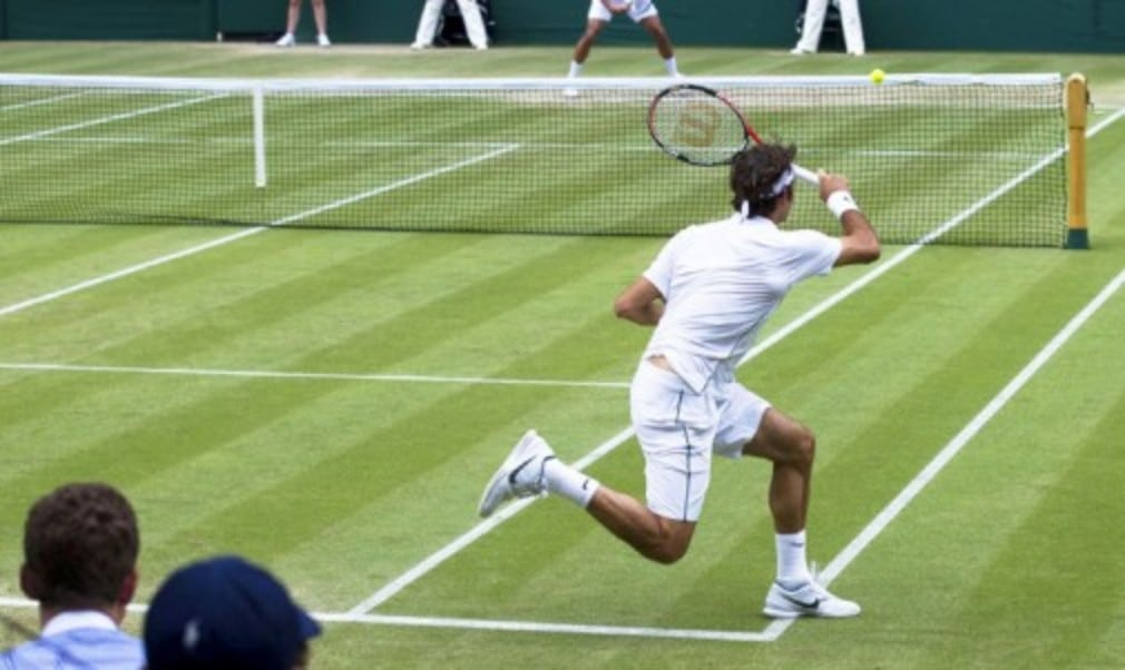 Preparing players for the brief grass court season is like no