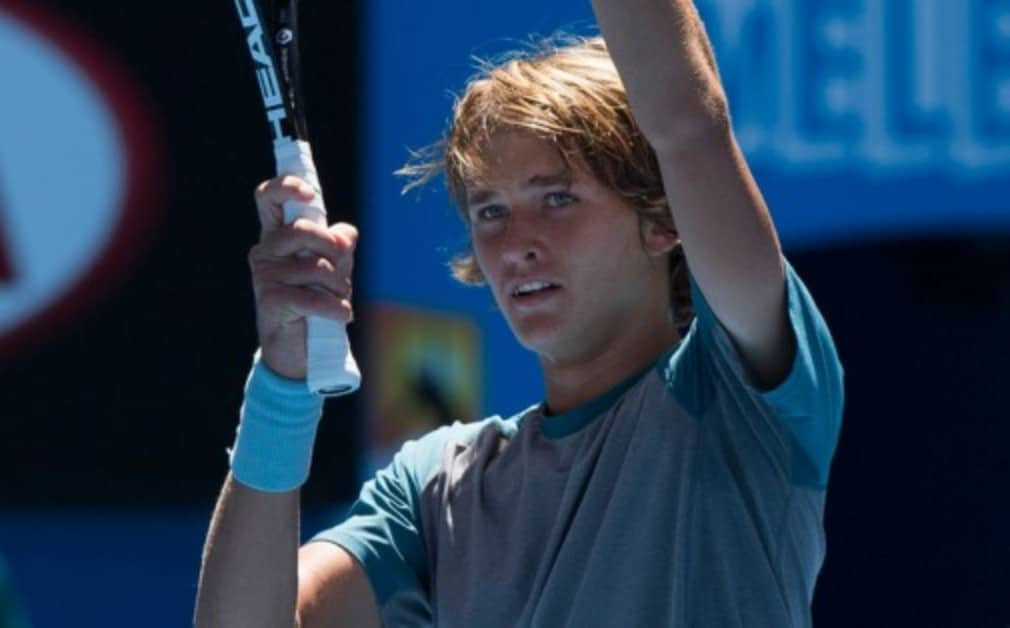 "Alexander Zverev became the youngest player to win a Challenger event in five years after an Š—""unbelievableŠ— victory at the Sparkassen Open"