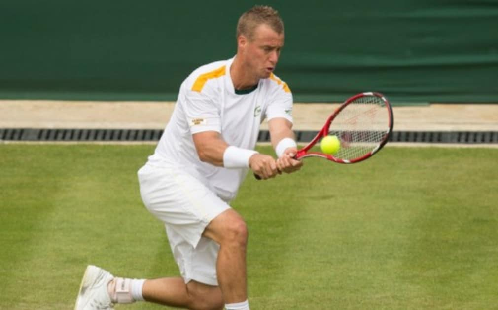 It was a memorable weekend for Lleyton Hewitt in Newport as he won his 30th singles title and also partnered Chris Guccione to success in the doubles
