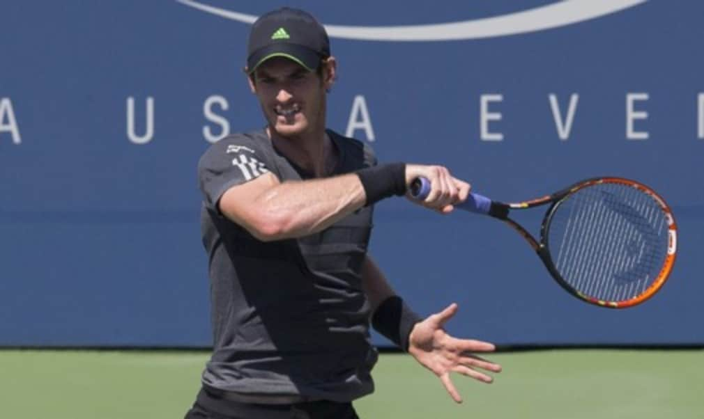 Former champions Novak Djokovic and Andy Murray face off in the final match of the day with a place in the semi-finals of the US Open at stake