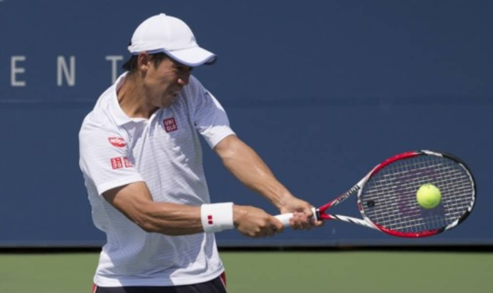 Kei Nishikori faces Marin Cilic in the first Grand Slam final without a Federer