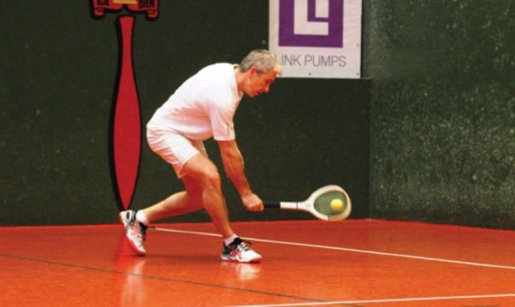Real Tennis World Champion Rob Fahey may not have lost many matches but he knows strong competition is what has pushed him to the top