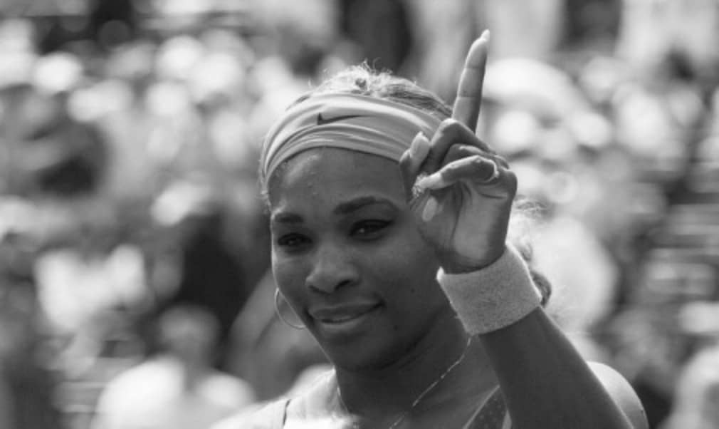 Serena Williams moved up to fourth in the all-time list after spending her 210th week at the top of the WTA rankings