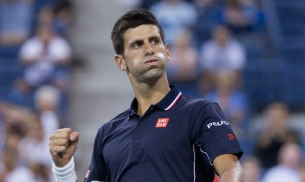 Novak Djokovic won his first match as a father as he returned to action at the BNP Paribas Masters in Paris