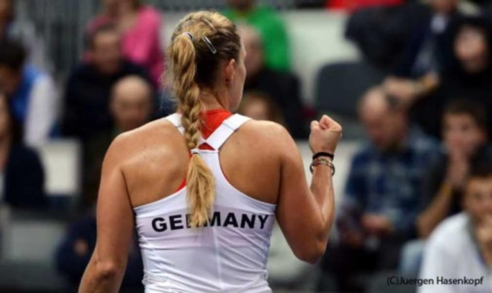 Angelique Kerber admits the pressure is on both teams ahead of this weekend's Fed Cup final between Germany and Czech Republic in Prague