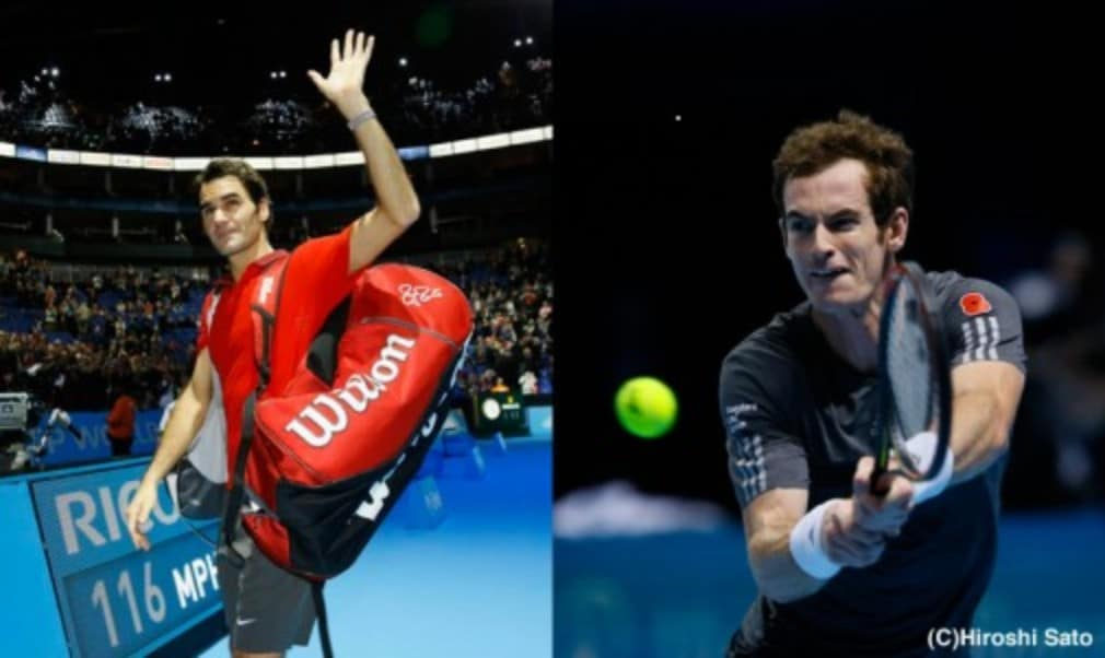 Andy Murray ensured there is all to play for against Roger Federer on Thursday after beating Milos Raonic at the Barclays ATP World Tour Finals in London