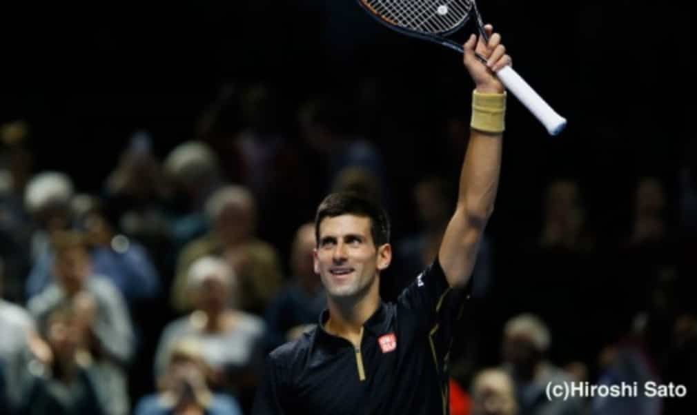 Novak Djokovic is on the cusp of qualifying for the semi-finals of the Barclays ATP World Tour Finals after beating Stan Wawrinka 6-3 6-0 on Wednesday