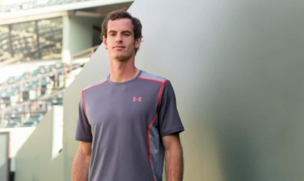Andy Murray has been unveiled as the new face of Under Armour after signing a lucrative four-year deal with the American brand