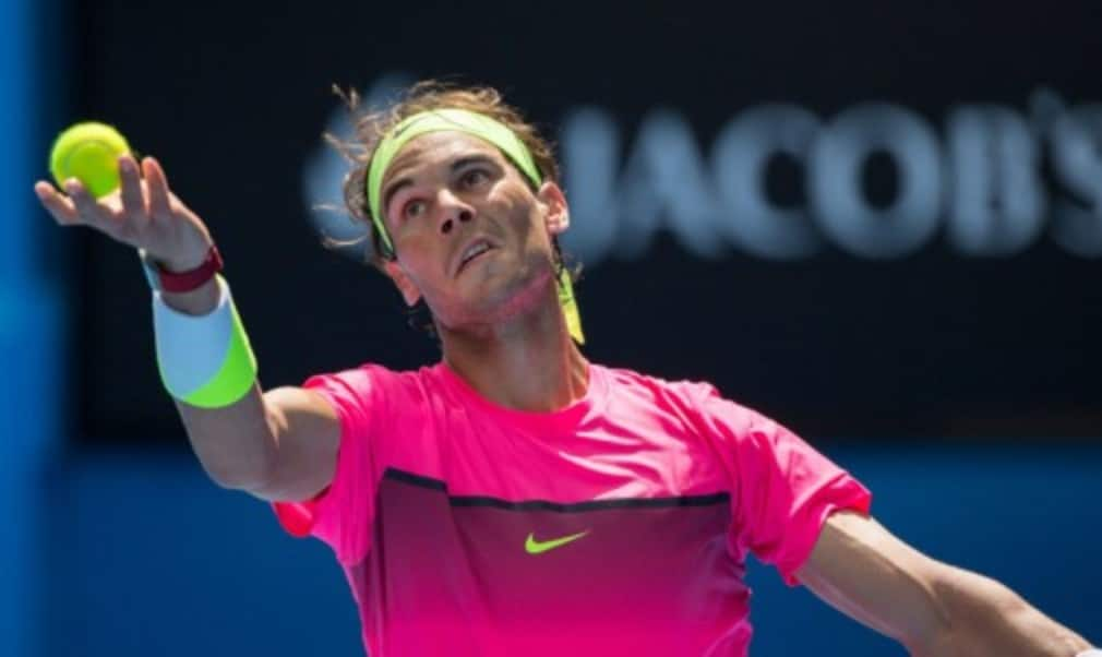 Rafael Nadal refused to look beyond his next match despite an impressive start to his Australian Open campaign