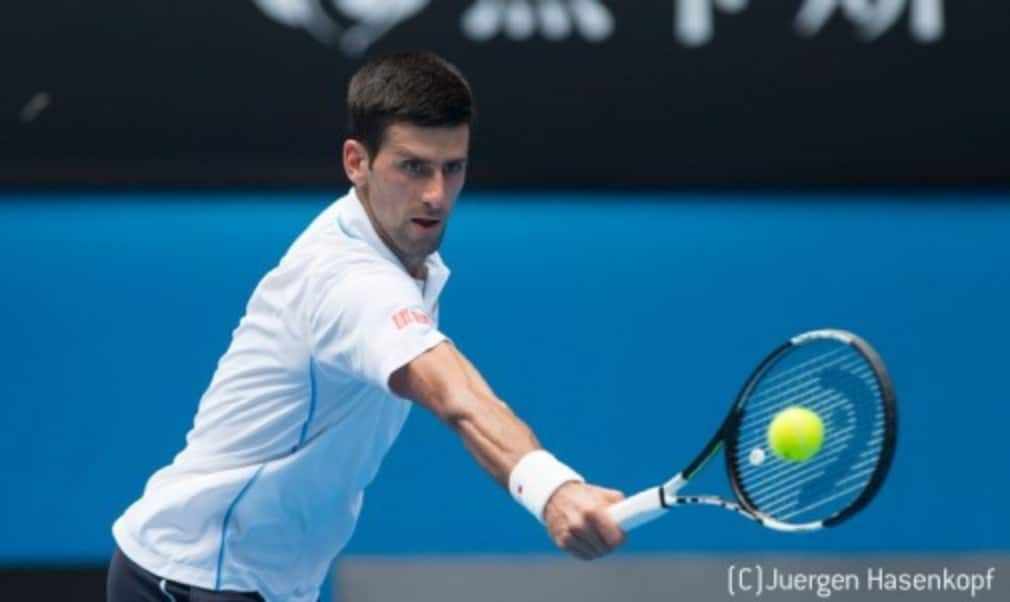 Novak Djokovic avoided any drama as he moved into the Australian Open third round with a comfortable victory over Andrey Kuznetsov