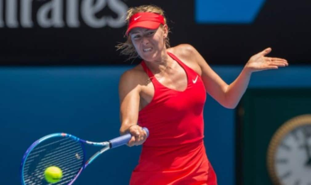 Maria Sharapova has played down comparisons between herself and Eugenie Bouchard as the pair set up a highly-anticipated quarter-final at the Australian Open
