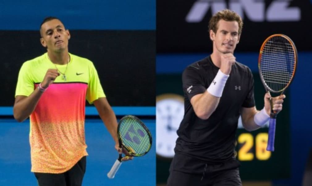 Andy Murray is prepared for an electric atmosphere on Rod Laver Arena when he takes on home favourite Nick Kyrgios in the Australian Open quarter-finals