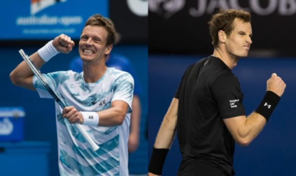 Andy Murray has played down the significance of his former coach working with Tomas Berdych ahead of their Australian Open semi-final