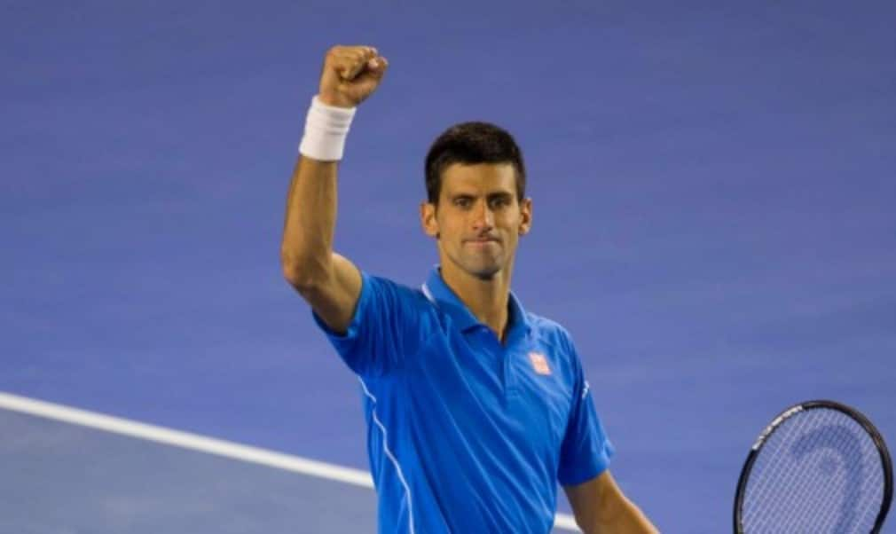 Novak Djokovic will face Andy Murray in the Australian Open final for a third time in five years after the Serb defeated defending champion Stan Wawrinka 7-6(1) 3-6 6-4 4-6 6-0