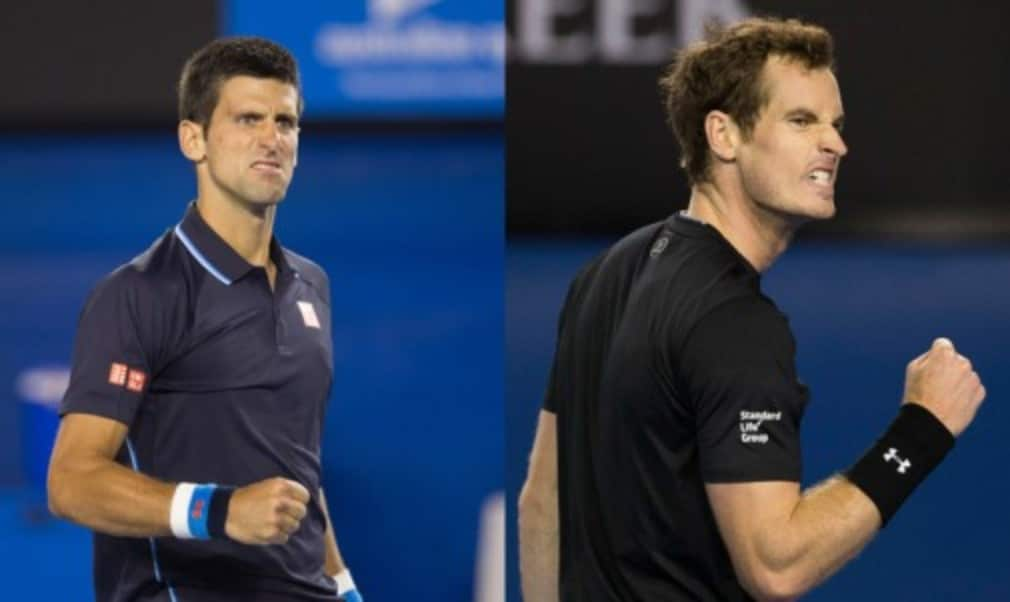 Andy Murray insists he will go into SundayŠ—Ès Australian Open final as the underdog despite Novak DjokovicŠ—Ès assertion that there is no clear favourite