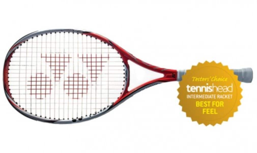 The Yonex VCORE Si 100 LG was voted best for feel by our testers in the 2015 intermediate racket reviews
