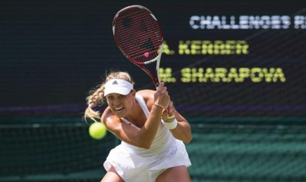 Angelique Kerber recalls her victory over Maria Sharapova at the All England Club