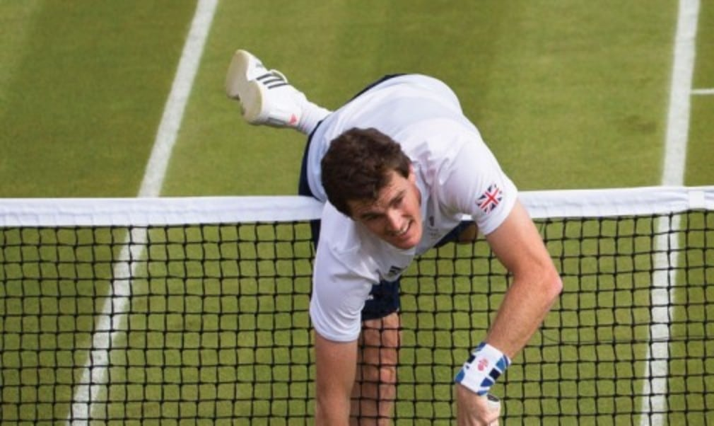 Jamie Murray won the mixed doubles title at Wimbledon in 2007