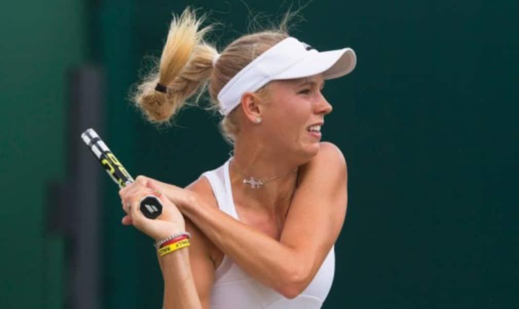 Caroline Wozniacki explains why winning the girls' title at Wimbledon helped her become world No.1