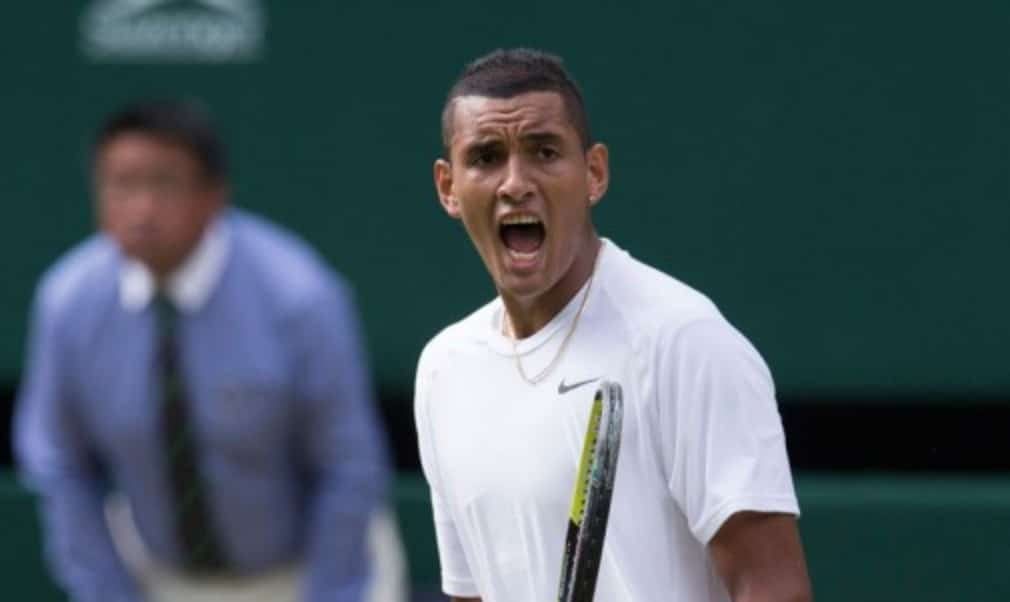 Last year Nick Kyrgios arrived at Wimbledon ranked No.144 in the world. After a whirlwind 12 months